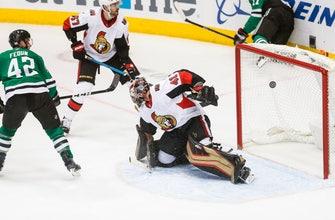 Heiskanen scores 2 goals, Stars rally to beat Senators 6-4