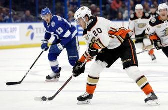 Miller's 34 saves helps lift Ducks past Lightning 3-1