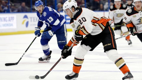 Ducks trade Aberg to Wild for Justin Kloos