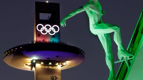<p>               FILE - In this Feb. 9, 2018 file photo, a speed skating figure is displayed in front of the Alpensia Ski Jumping Center ahead of the 2018 Winter Olympics in Pyeongchang, South Korea. A growing sex-abuse problem in Olympic sports has led to a steady stream of Congressional hearings and a three-year grant worth $2.2 million. Yet not a penny of those federal funds can be used to fight the actual problem: investigating or resolving more than 800 open cases, many brought by victims themselves. (AP Photo/Michael Probst, File)             </p>