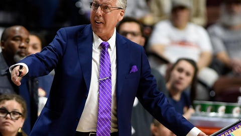 <p>               FILE - In this Aug. 19, 2018, file photo, Los Angeles Sparks head coach Brian Agler protests a call during play against the Connecticut Sun in the first half of a WNBA basketball game, in Uncasville, Conn. Agler, who led the Sparks to the WNBA championship in 2016, has resigned as coach after four years. The team made the announcement early Friday, Nov. 30, 2018, without explanation.(Sean D. Elliot/The Day via AP, File)             </p>