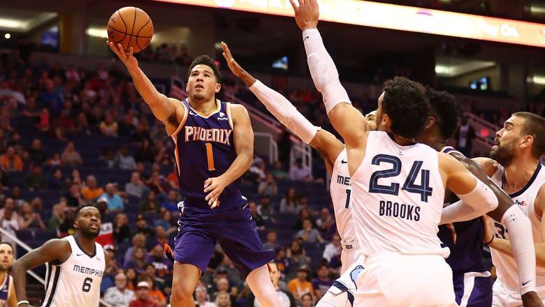 Devin Booker's game-winner downs Grizzlies in Phoenix