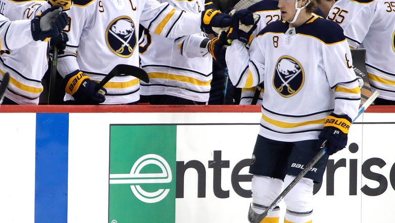 Eichel's OT winner lifts Sabres by reeling Penguins 5-4