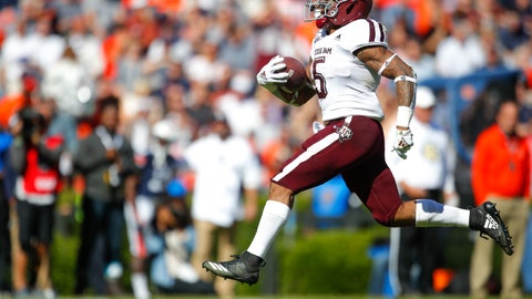 <p>               Texas A&M running back Trayveon Williams (5) rushes for a touchdown against Auburn during the first half of an NCAA college football game, Saturday, Nov. 3, 2018, in Auburn, Ala. (AP Photo/Todd Kirkland)             </p>