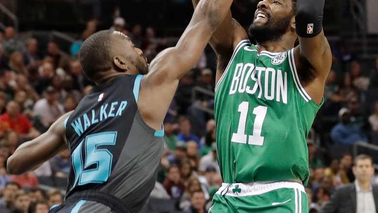 Walker stays hot, scores 43 as Hornets upend Celtics 117-112
