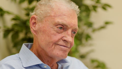 <p>               FILE - In this July 31, 2018 file photo, former Nebraska coach Tom Osborne smiles during an interview in his office in Lincoln, Neb. Some of college football's most successful coaches, including Osborne, have been labeled with the dreaded 'Can't win the big one' tag because of a string of failures against rivals. Coming up short in the game that matters most to your fans can tempt a coach to question everything _ from his Xs and Os to his Jimmys and Joes. (AP Photo/Nati Harnik, file)             </p>