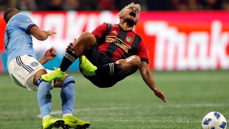 Martinez scores 2 goals, Atlanta United beats NYCFC 3-1