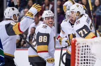 Pacioretty scores twice as Golden Knights beat Canucks 4-3