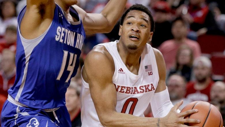James Palmer's 29 points lead Nebraska past Seton Hall 80-57