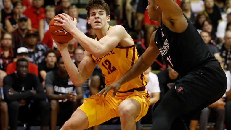 The Latest: Iowa State beats San Diego State 87-57 in Maui