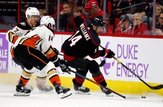 Ducks win 3rd straight as Getzlaf scores in overtime