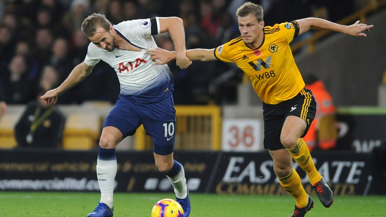 Tottenham cling on after conceding 2 penalties at Wolves