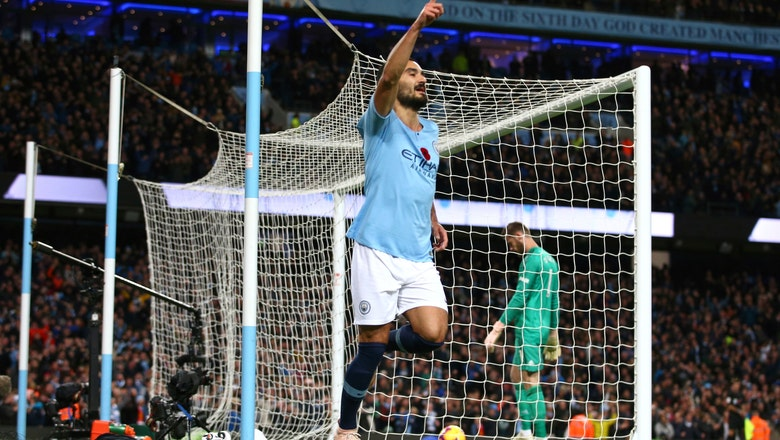 Man City surges clear of United but EPL title race wide open
