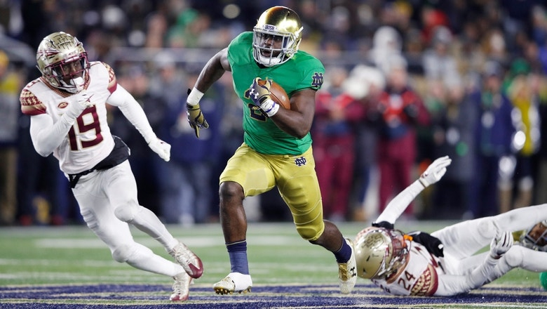 Dexter Williams, No. 3 Notre Dame prove to be too much for Florida St.