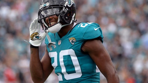 "<p>               FILE - In this Sept. 16, 2018, file photo, Jacksonville Jaguars cornerback Jalen Ramsey (20) reacts after a play during the first half of an NFL football game against the New England Patriots in Jacksonville, Fla. Ramsey isn't backing off on offseason comments in which he referred to Buffalo Bills quarterback Josh Allen as ""trash."" The pair will face off on Sunday, Nov. 25 when the Jaguars play against the Bills. (AP Photo/Phelan M. Ebenhack, File)             </p>"