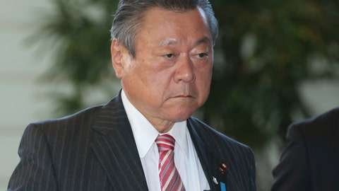 <p>               In this Oct. 2, 2018, file photo, Japan's Minister in Charge of Tokyo Olympics Yoshitaka Sakurada arrives at the prime minister's official residence in Tokyo. Sakurada, also the minister in charge of cybersecurity, is in the spotlight for acknowledging he had never used a computer and making comments showing he had no idea what a USB port might be. (AP Photo/Koji Sasahara, File)             </p>