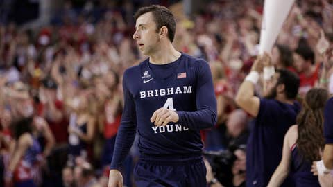 <p>               FILe - In this Feb. 25, 2017, file photo, BYU guard Nick Emery walks on the court during the first half of an NCAA college basketball game against Gonzaga in Spokane, Wash. The men's basketball program at Brigham Young University must vacate wins over two seasons and received two years of probation from the NCAA after one of its players received extra benefits. The NCAA said Friday, Nov. 9, 2018, that Nick Emery received more than $12,000 in benefits from four boosters, which included travel to concerts and an amusement park along with the use of a new car.  (AP Photo/Young Kwak, File)             </p>