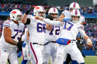 Bills QB Allen returns to beat Jaguars, silence Ramsey