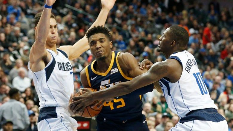 Mavericks hold Jazz to 22 in 2nd half, win 118-68 loss