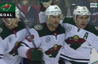 WATCH: Wild's leading goal scorers Granlund and Parise score in Columbus