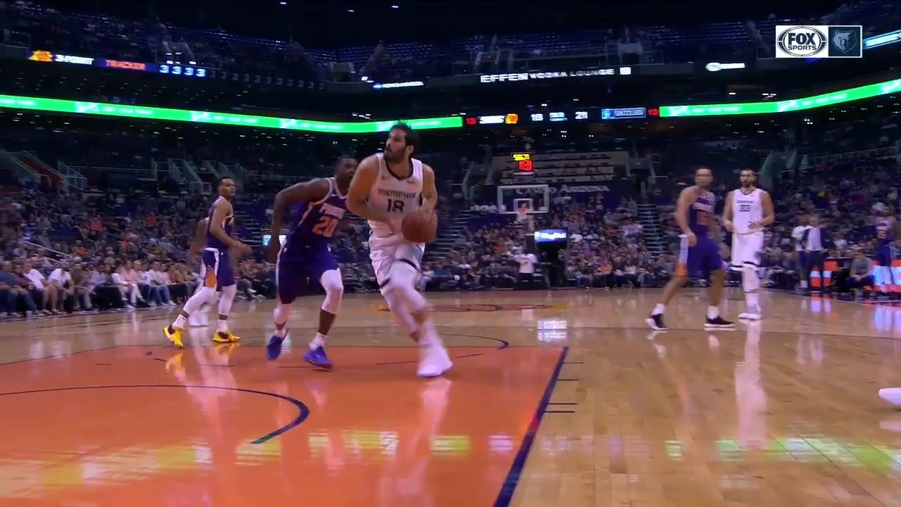 best authentic 8dbf6 71bcc HIGHLIGHTS: Omri Casspi shows off 'Shammgod' crossover against Suns