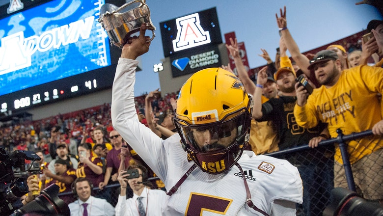 Sun Devils rally in 4th to upend rival Wildcats