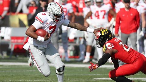 FALL GUYS: Dwayne Haskins, Ohio State QB