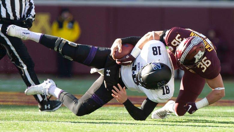 PHOTOS: Gophers vs. Northwestern