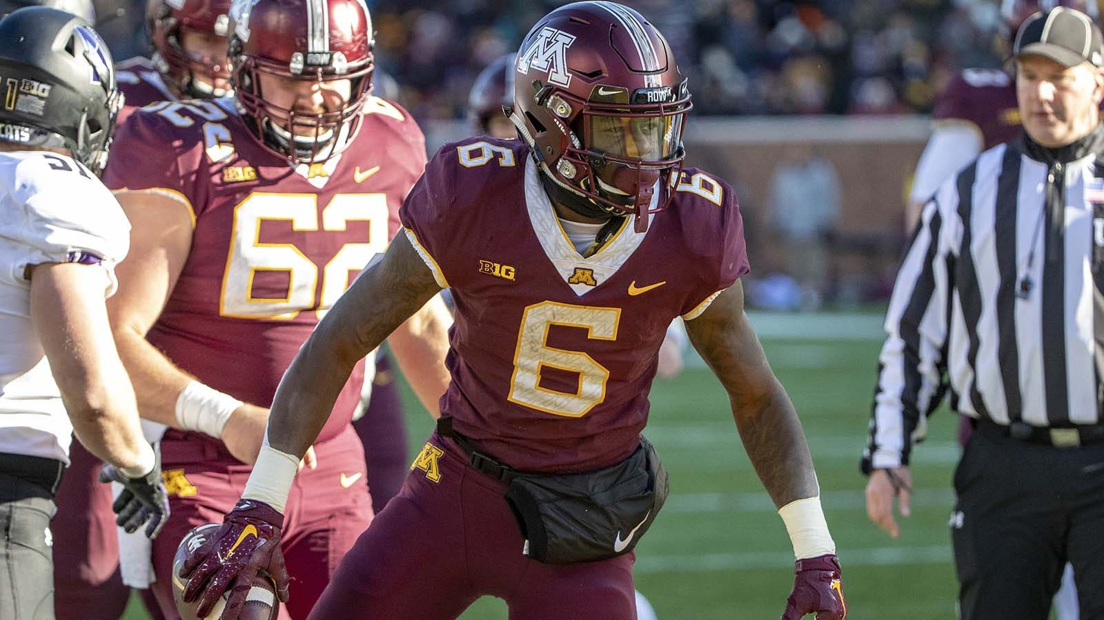 Buccaneers Double Down On Gophers Select Tyler Johnson In Fifth Round Fox Sports