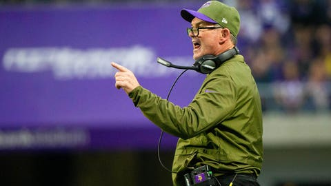 Mike Zimmer (⬆ UP)