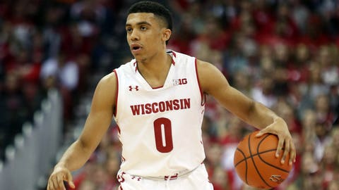 D'Mitrik Trice, Badgers guard (↑ UP)
