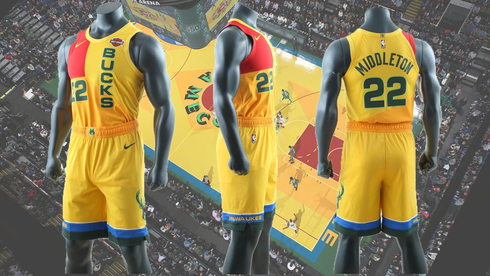 promo code 84d5a 396b6 Learn about the Bucks' MECCA-inspired City Edition threads ...