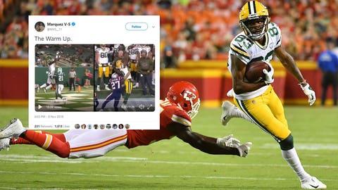 Marquez Valdes-Scantling, Packers receiver