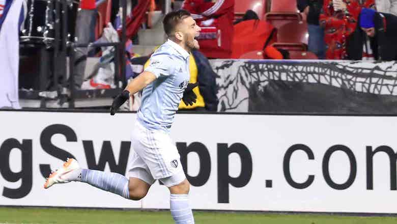 Rubio subs in, scores game-tying goal as Sporting KC draws 1-1 with Real Salt Lake