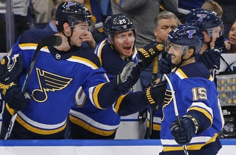 Blues host Sharks hoping to make it two wins in a row