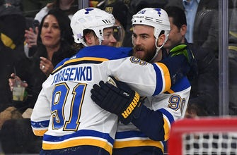 O'Reilly nets a pair as Blues topple Golden Knights 4-1