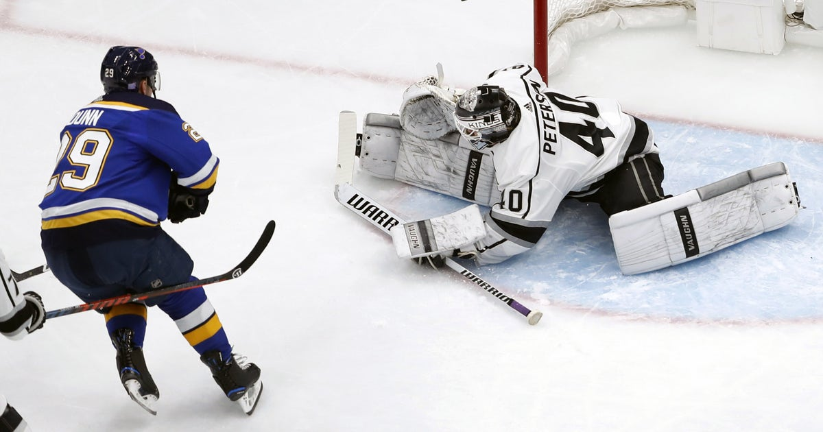 Blues get shut out for third time in four games in 2-0 loss to Kings