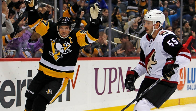 Coyotes shut out by Penguins for 3rd straight loss