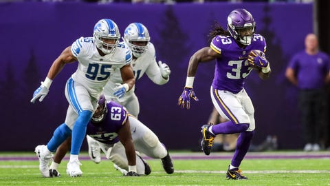 Dalvin Cook finally gets going