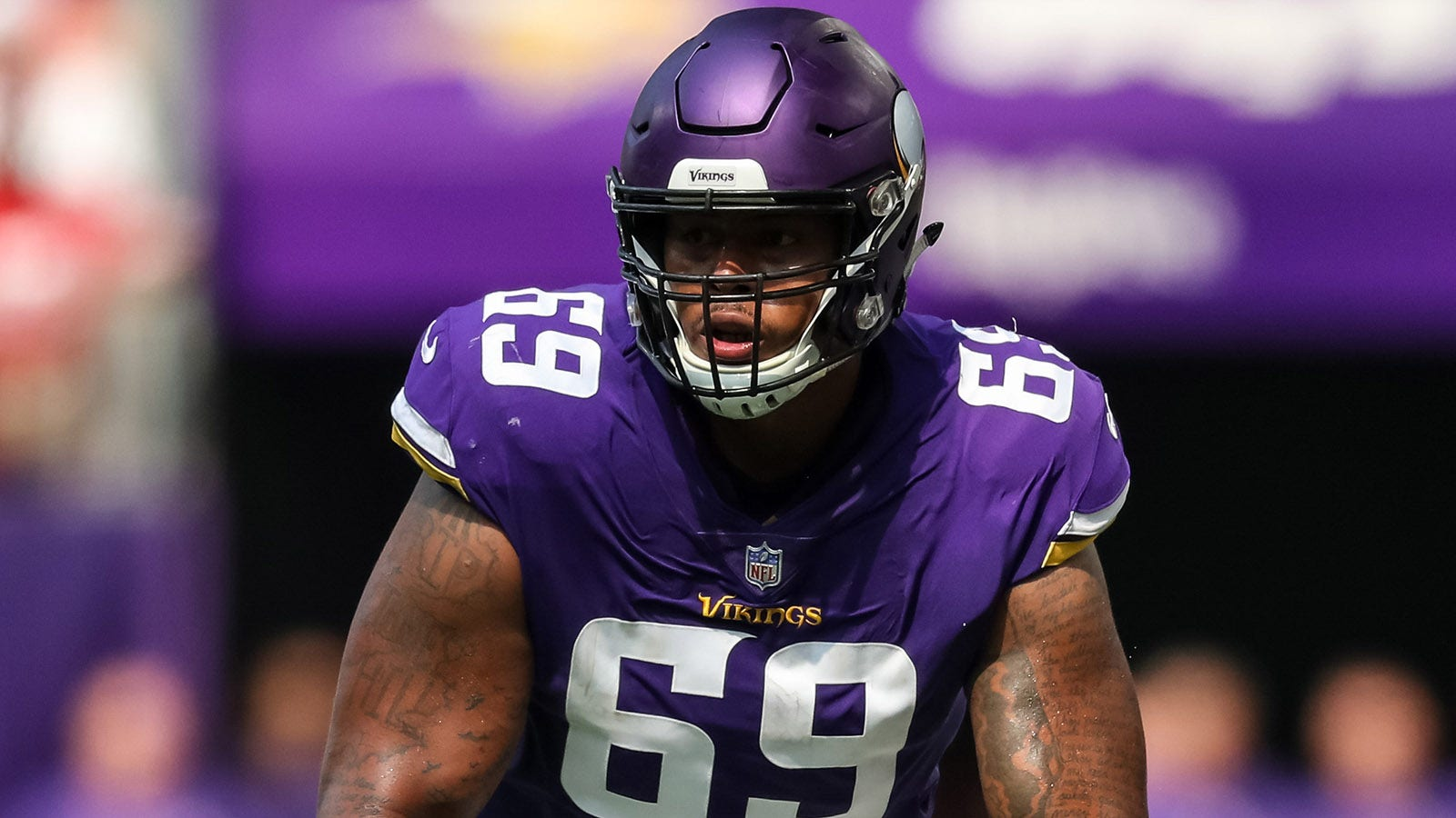 sports shoes 2d5ef cb893 Vikings Snap Counts: Rashod Hill fills in with O-line ...
