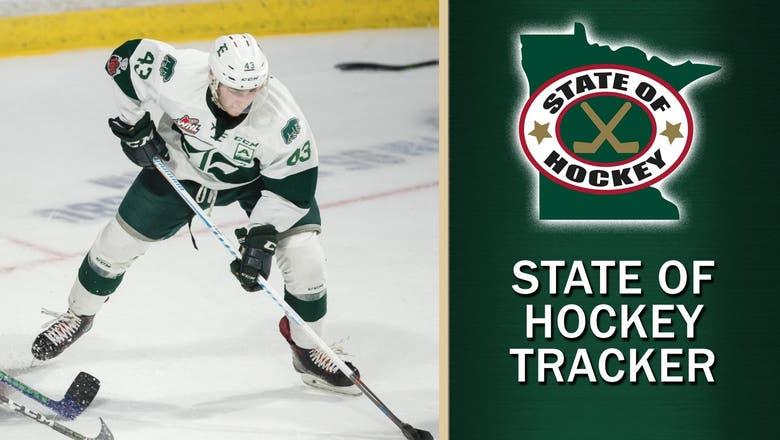 Wild prospect Connor Dewar off to hot start in WHL