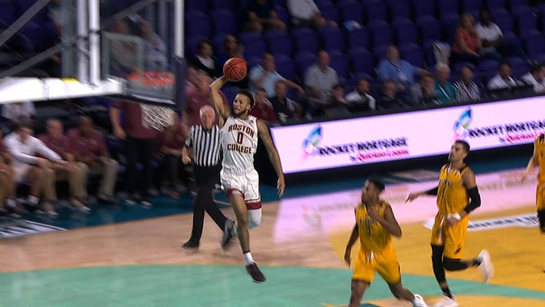 Wyoming Cowboys vs. Boston College Eagles   FOX COLLEGE HOOPS HIGHLIGHTS