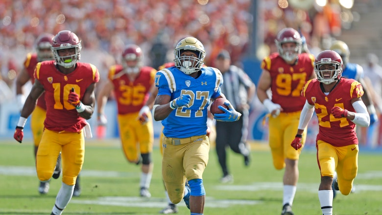Joshua Kelley runs UCLA past USC for first time since 2014
