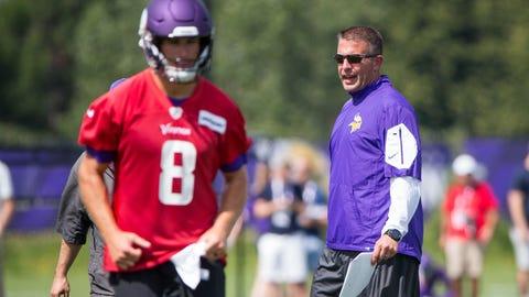 John DeFilippo, Vikings offensive coordinator (⬇ DOWN)
