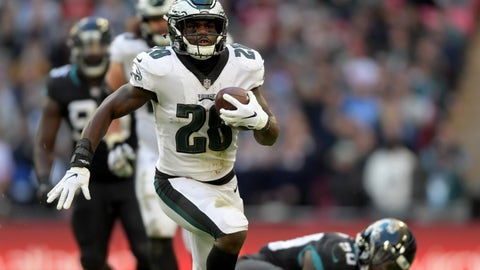 SIT: Wendell Smallwood, RB, Eagles