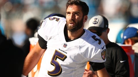 START: Joe Flacco, QB, Ravens