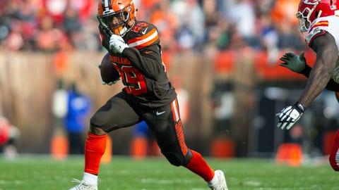 START: Duke Johnson Jr., RB, Browns: