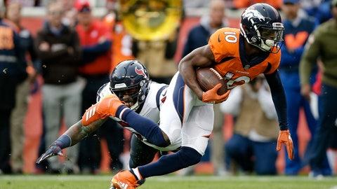 SIT: Emmanuel Sanders, WR, Broncos:
