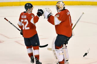 Roberto Luongo's stout defense leads Panthers to 4-1 win over Oilers