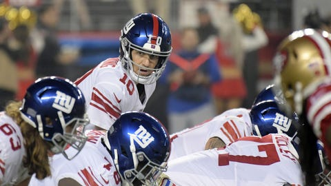 START: Eli Manning, QB, Giants